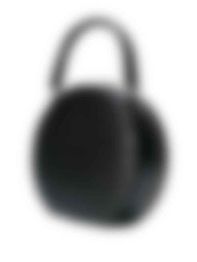 Rebecca Minkoff Kate Circle Bag Croc Effect Black