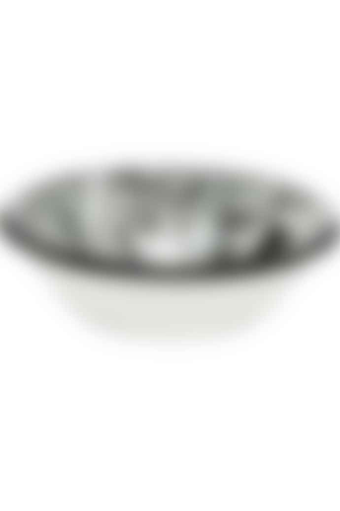 Bornn Black swirl bowl