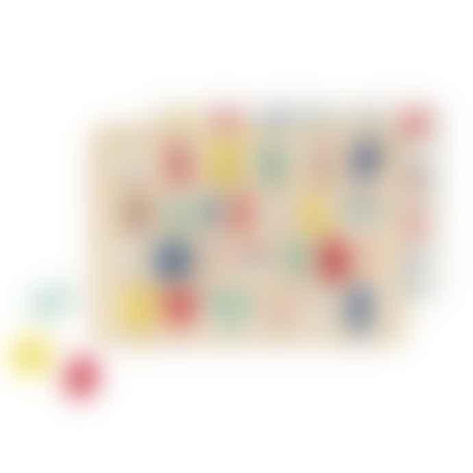 PetitCollage Puzzle Multi Language Alphabet