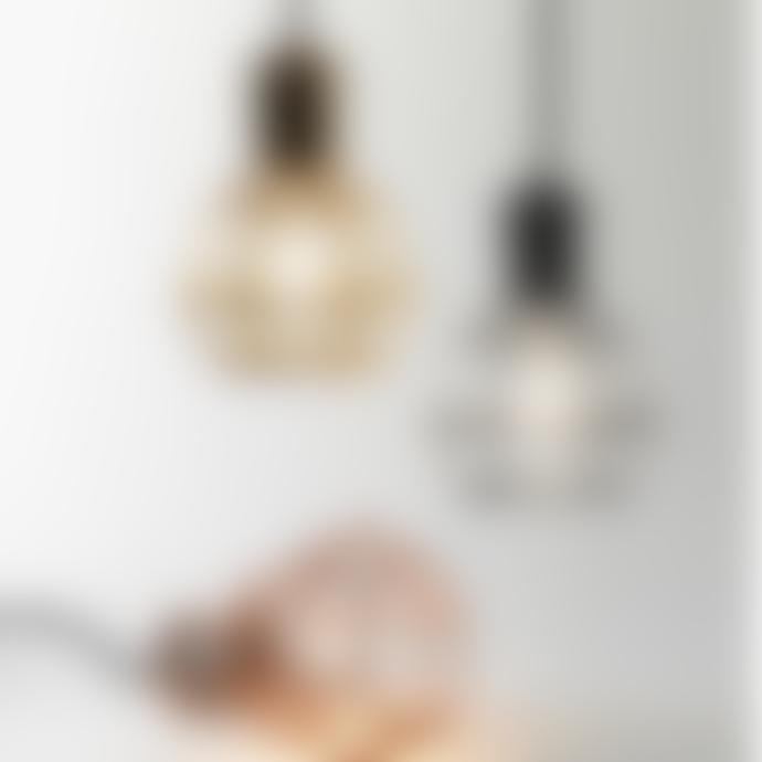 Design House Stockholm  Chrome Table Desk or Pendant Modern Work Lamp - With Bulb