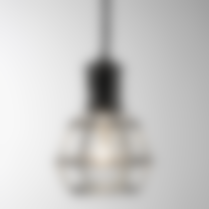 Design House Stockholm  Gold Table Desk or Pendant Modern Work Lamp - With Bulb