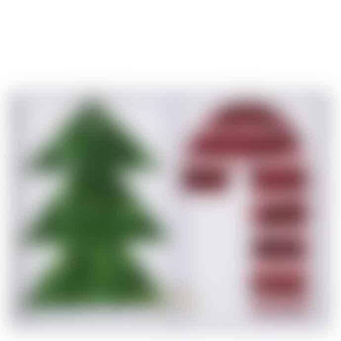 Meri Meri Festive Fringed Gift Tags