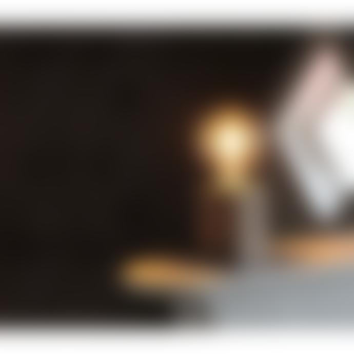 Star Trading Brown Wood E27 Lamp Base