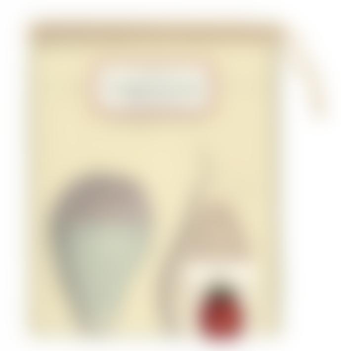 Cavallini & Co Fruit Cotton Tea Towel With Gift Bag