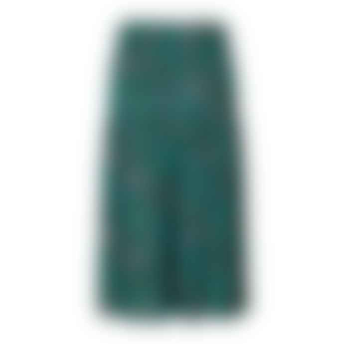 Lollys Laundry Cokko Skirt Green Lurex
