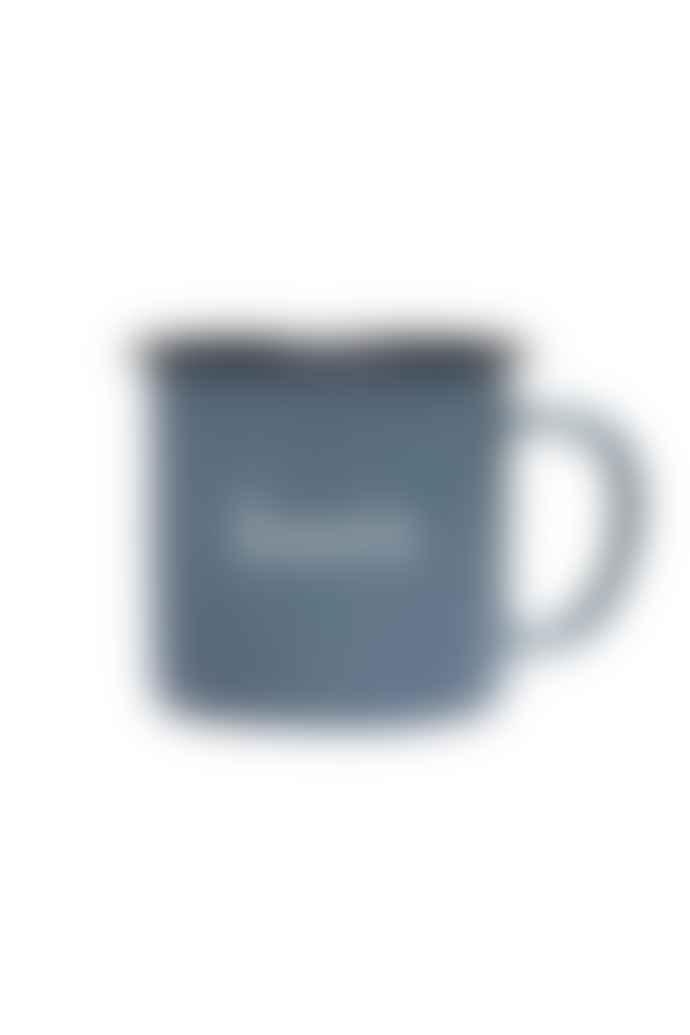 foret Studio Bean Enamel Grey Mug
