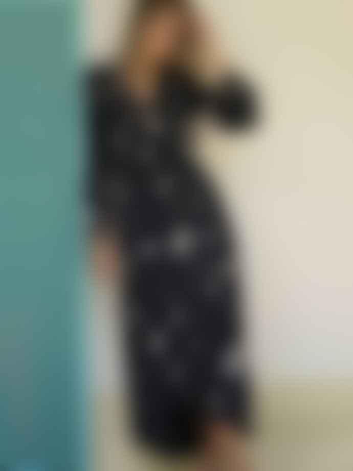Stardust Vivian Heart Dress Black Nude