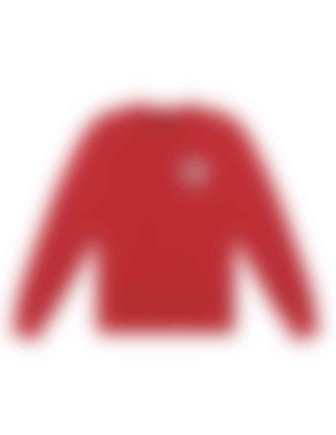 Deus Ex Machina Eviction Crew Red Sweatshirt