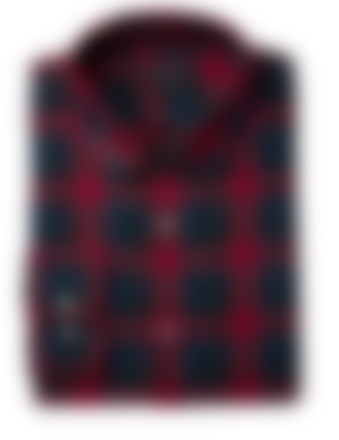 John Varvatos Long-Sleeve Plaid Shirt