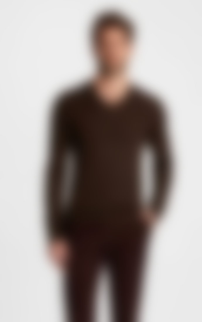 John Varvatos WASHABLE WOOL SWEATER