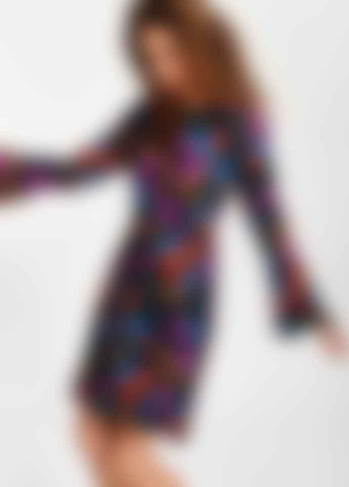 Essentiel Antwerp Taurent fitted floral dress