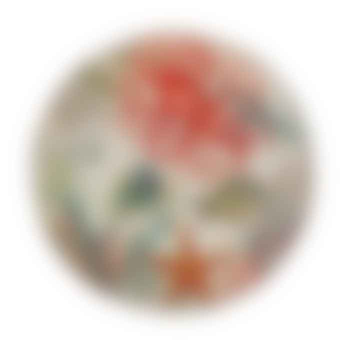 Rose&Tulipani Sea Life Round Platter