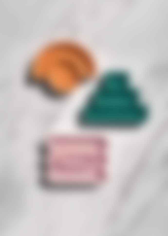 Octaevo Orange Desk Tidy / Trinket Catchall