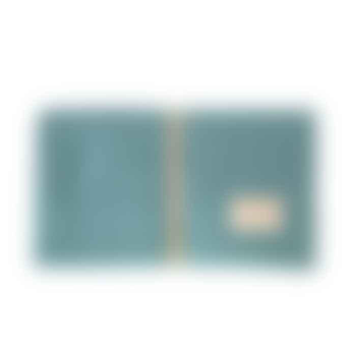 Nobodinoz Magic Green Organic Cotton Mozart Waterproof Changing Mat