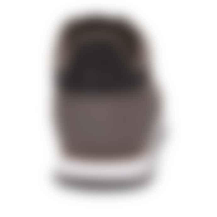 Woden Brown Ydun Croco Sneakers