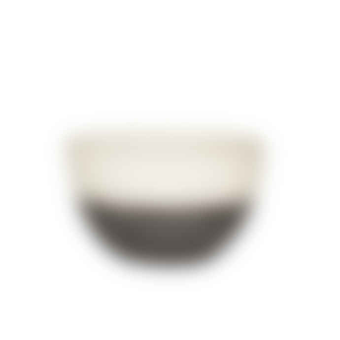 Broste Copenhagen Set of 2 Monochrome small cereal bowls