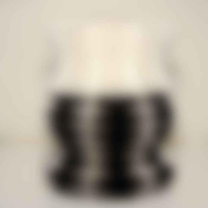 Design by O Black and White Zouzou Courbe Vase