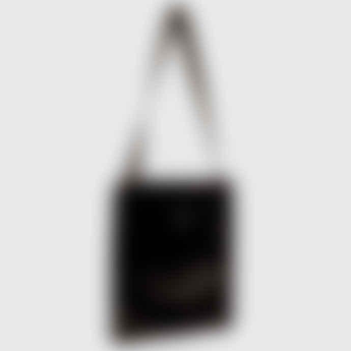 OOF Wear Reversible Shoulder Bag in Eco-Fur - Black