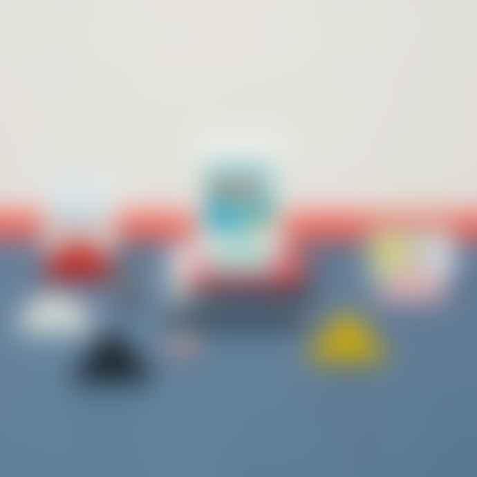 Block Design Geometric Photo Clip Yellow Triangle