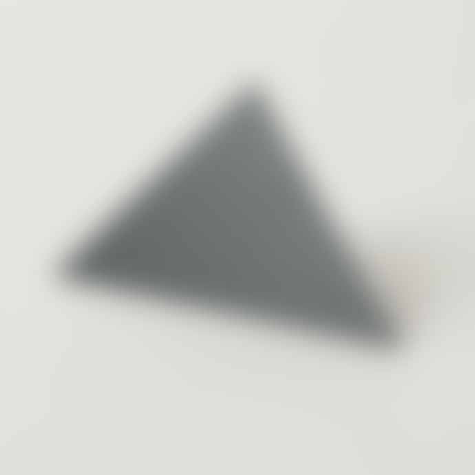 Block Design Geometric Photo Clip Grey Triangle