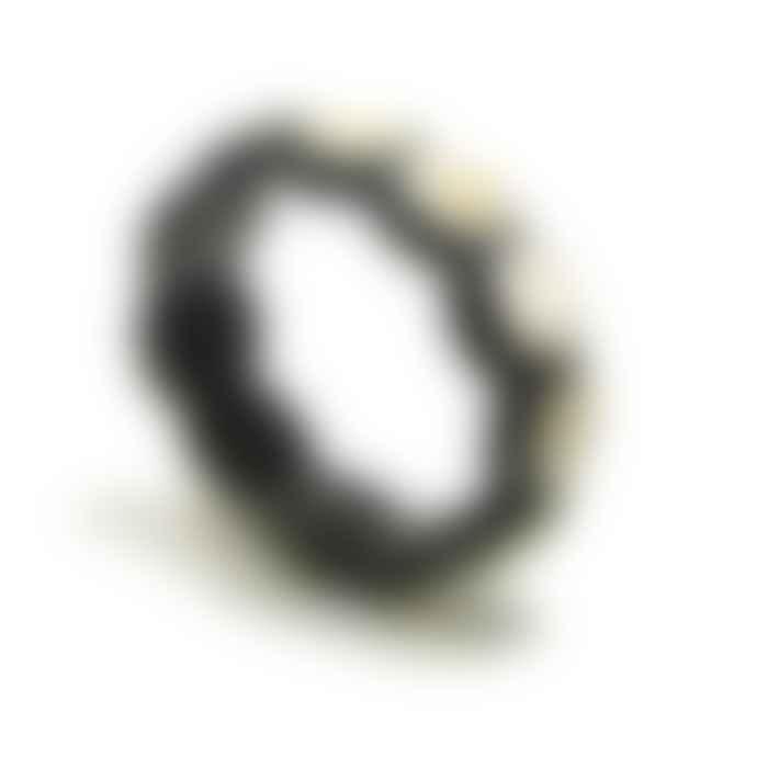 Abbeyhorn Horn Bead Elasticated Bracelet