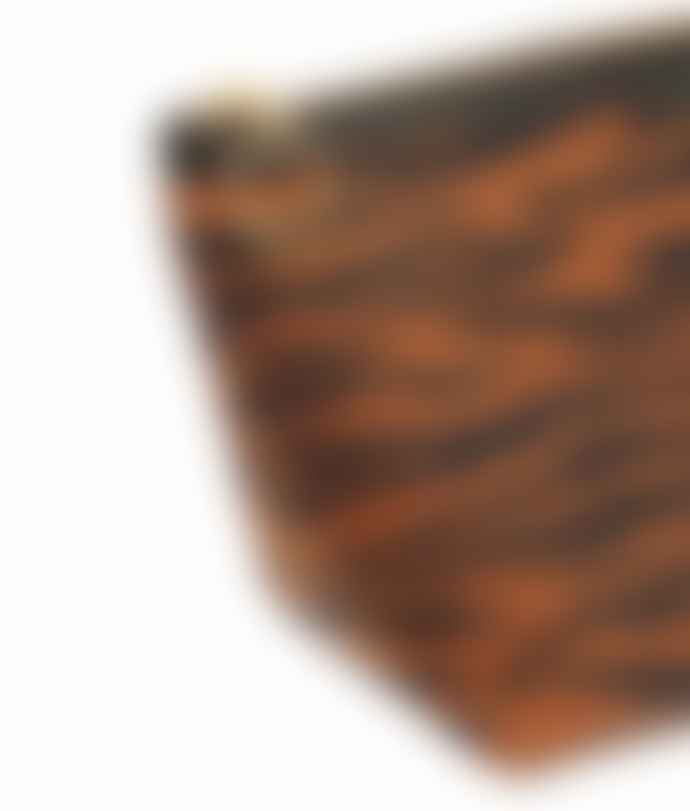 Wouf Tiger Velvet Makeup Bag