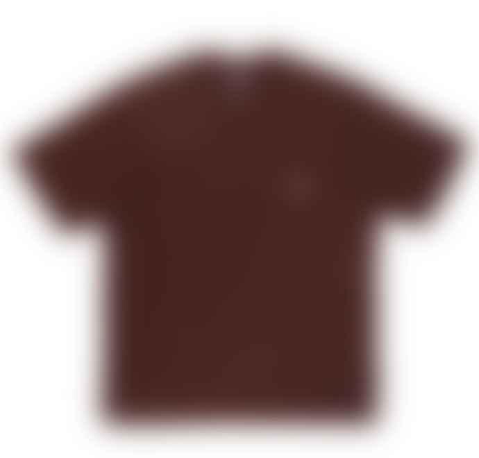 Danton Danton Pocket T Shirt Teak Brown