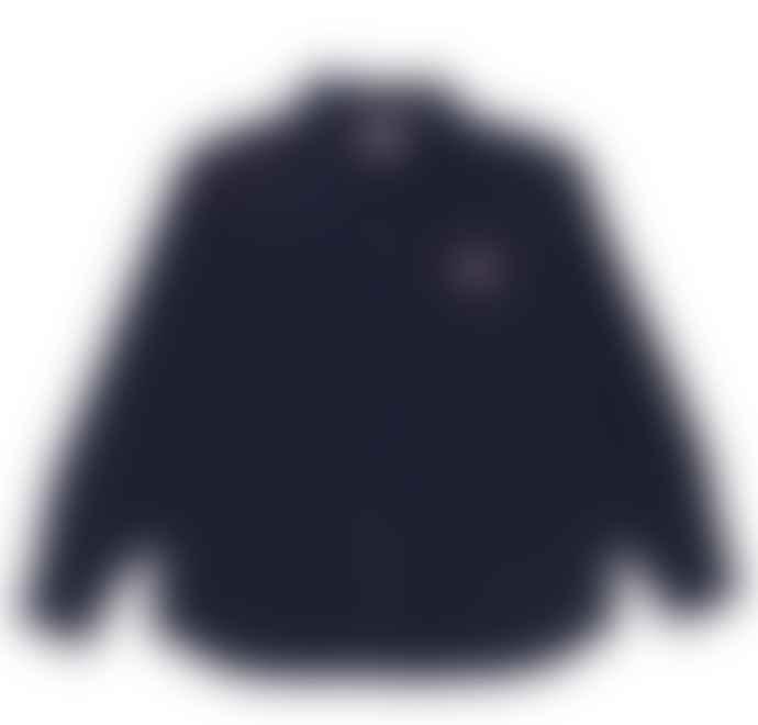 Danton Danton Oxford Viyella Shirt JD 3568 Navy