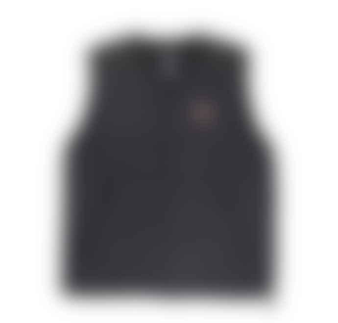 Danton Danton Nylon Down Vest JD 8753 Coal Grey