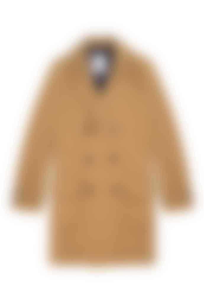 Wax London Ros Camel Wool Coat