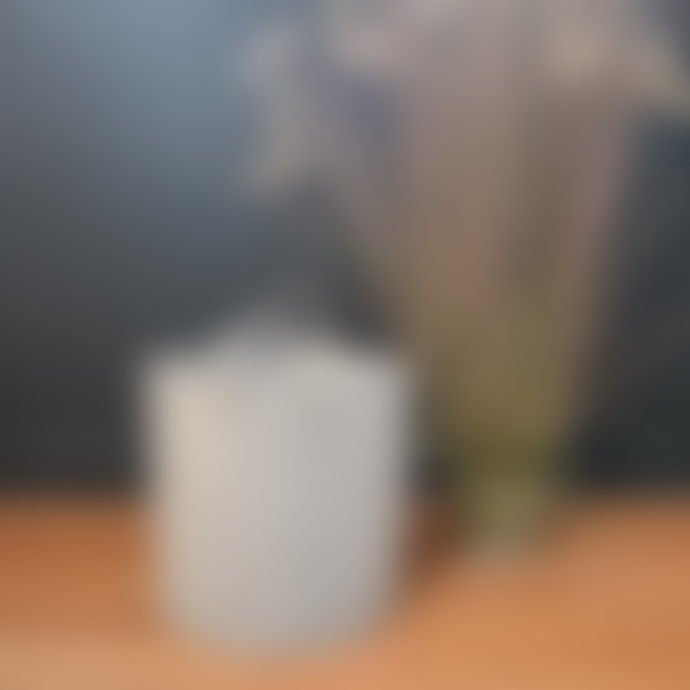 Grey Felt Basket - Large