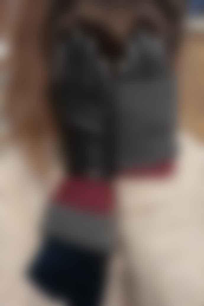 Markberg Helly Black Grey Burgundy Gloves