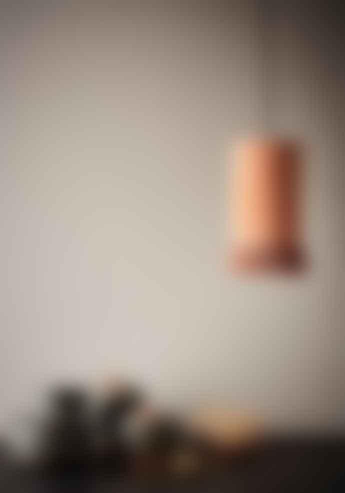 Madam Stoltz Velvet Ceiling Lamp Dusty Rose
