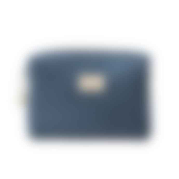 Nobodinoz Night Blue Organic Cotton Diva Waterproof Toiletry Bag
