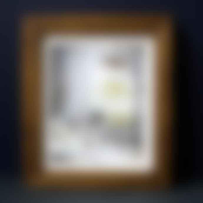 "livs 10""x12"" Rustic Brown Photo Frame"