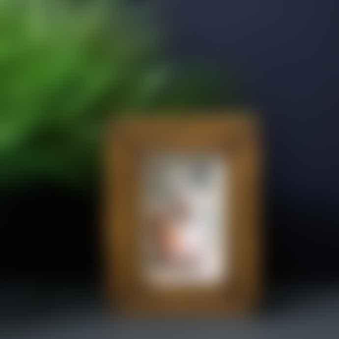 livs 4x6cm Rustic Brown Photo Frame
