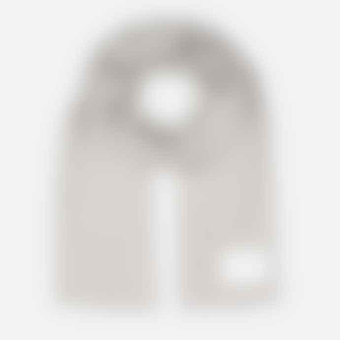 Makia Clothing Scarf Logical Light Grey