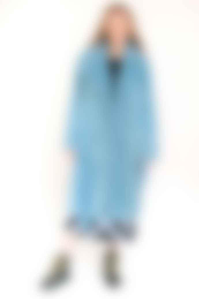 Stine Goya Happy Coat In Teal