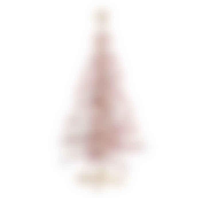minima. Wooden Christmas Tree