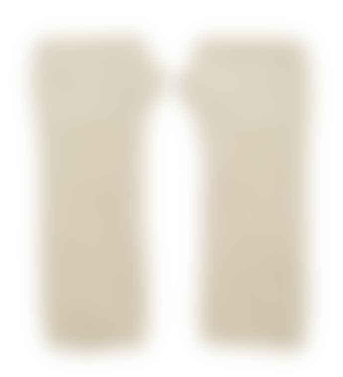 Somerville Cream Cashmere Loose Rib Wrist Warmers