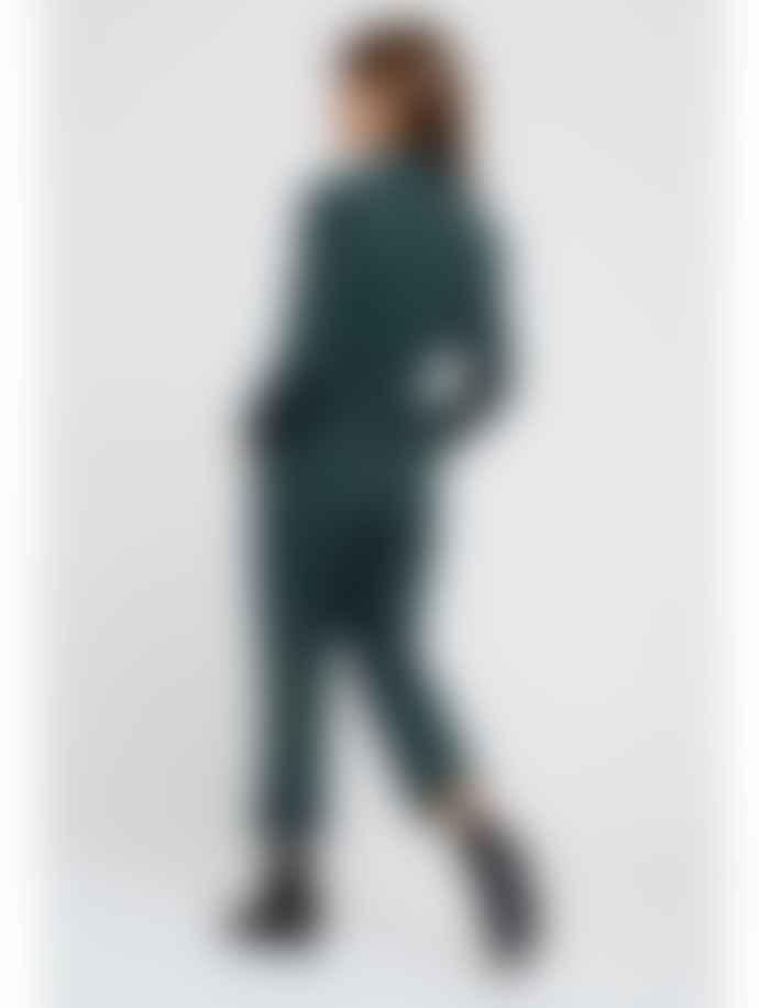 Louche Lenny Twill Green Jumpsuit
