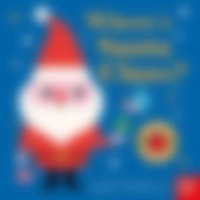 Nosy Crow Wheres Santa Claus Book