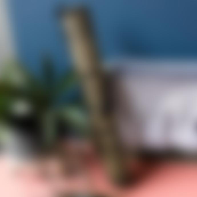 Nordal 48 x 34cm Black and Natural Seagrass Rectangular Placemat
