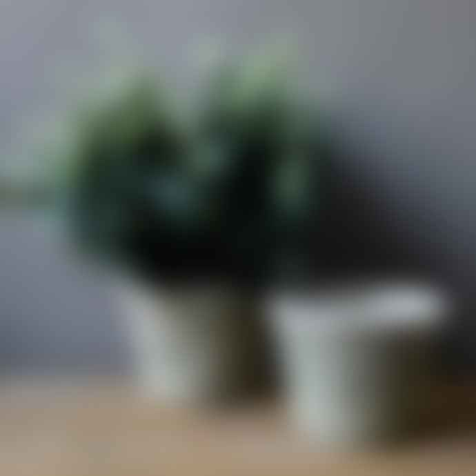 Affari 16x12cm Grey Terracotta Pot