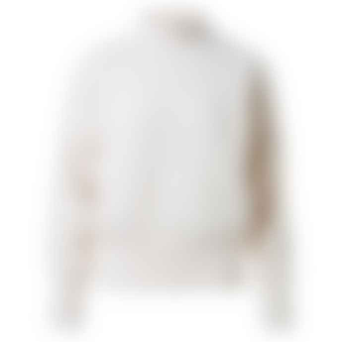 Yaya Oversized High Neck Sweater - Wool White