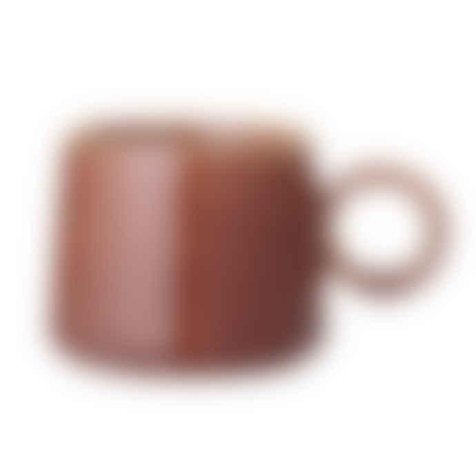 Bloomingville Ceramic Stoneware Red Mug