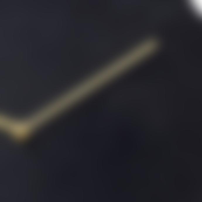 Menu Norm wall clock bronzed brass