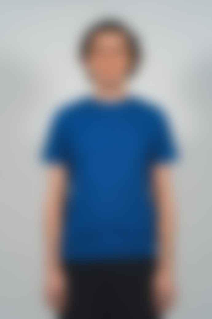 Castart Blue Cotton Schmidt Mens T Shirt