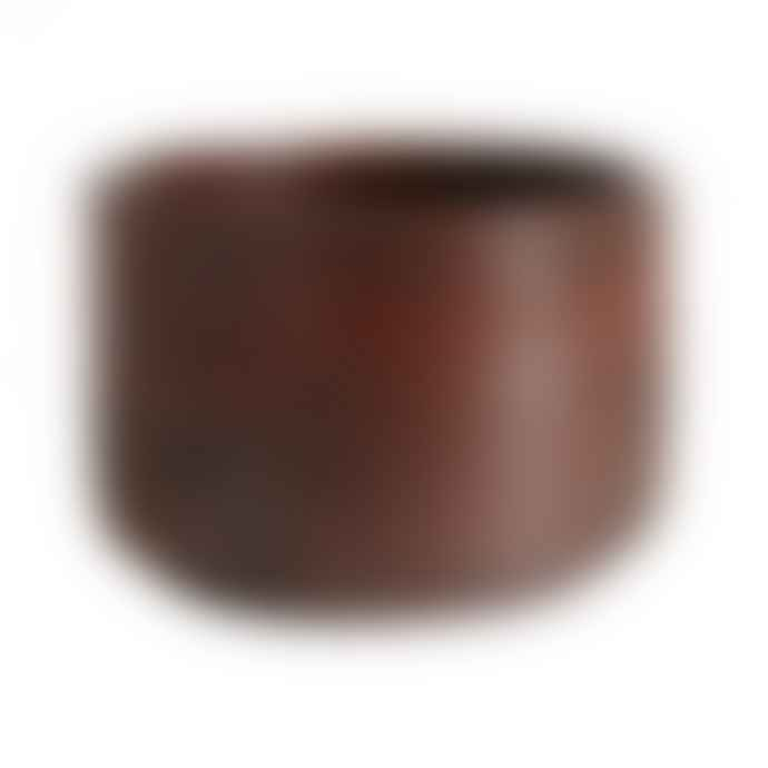 Muubs Small Brown Terracotta Dip It Hazel Bowl