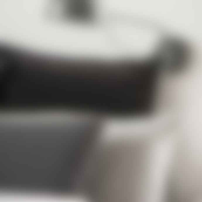 Ib Laursen Charcoal Linen Rectangle Cushion
